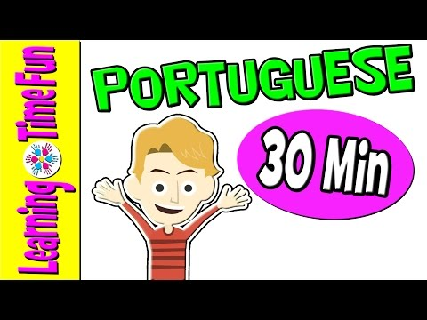 Learn PORTUGUESE | Brazilian Portuguese | Portuguese for Kids | Portuguese Language | Kid's Videos