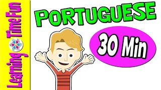 Learn PORTUGUESE | Brazilian Portuguese | Portuguese for Kids | Portuguese Language | Kid