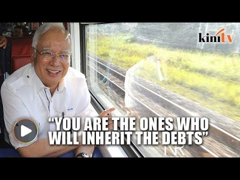 Najib: Harapan's promises will bring national debt to almost RM1 trillion