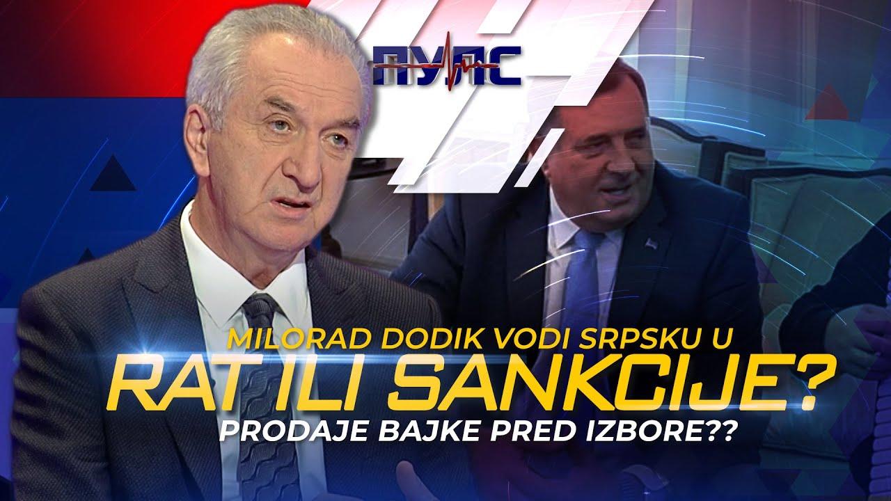 Download Mirko Šarović - Da li Milorad Dodik Srpsku vodi u novi rat ili zapadne sankcije?    PULS BN TV