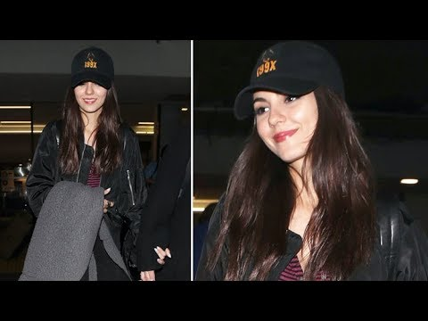 Victoria Justice Discusses Coachella And Visiting Petroglyph National Monument Upon Arrival In L.A.