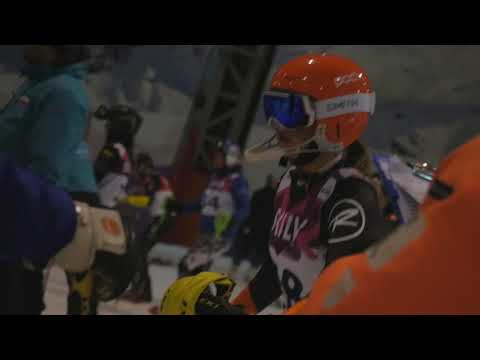 Baltic Cup 2018 youth parallel slalom in Snow Arena