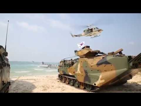 DFN: Cobra Gold 18: RoK, Thailand and U.S. forces perform amphibious assault, HAT YAO BEACH