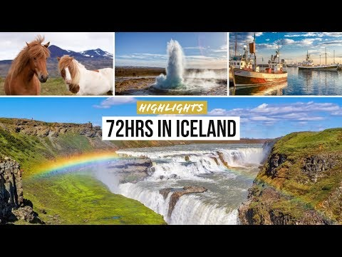 ICELAND Highlights: 72hrs Reykjavik & Golden Circle (Island im November)