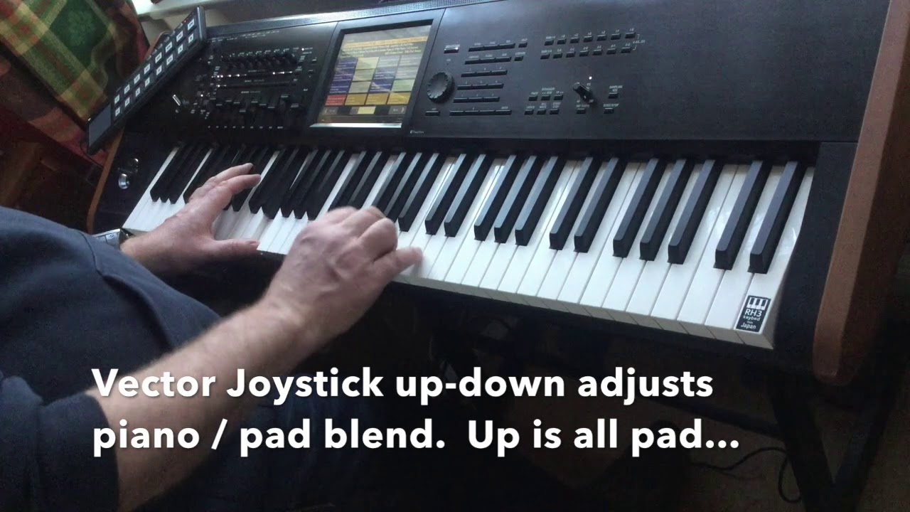 Korg Kronos Sounds for Worship - piano / keyboard / pad run-through