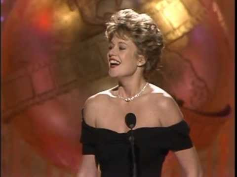 Melanie Griffith Wins Best Actress Motion Picture Musical or Comedy - Golden Globes 1989