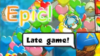 Bloons TD Battles - Epic Late Game on Bananza??
