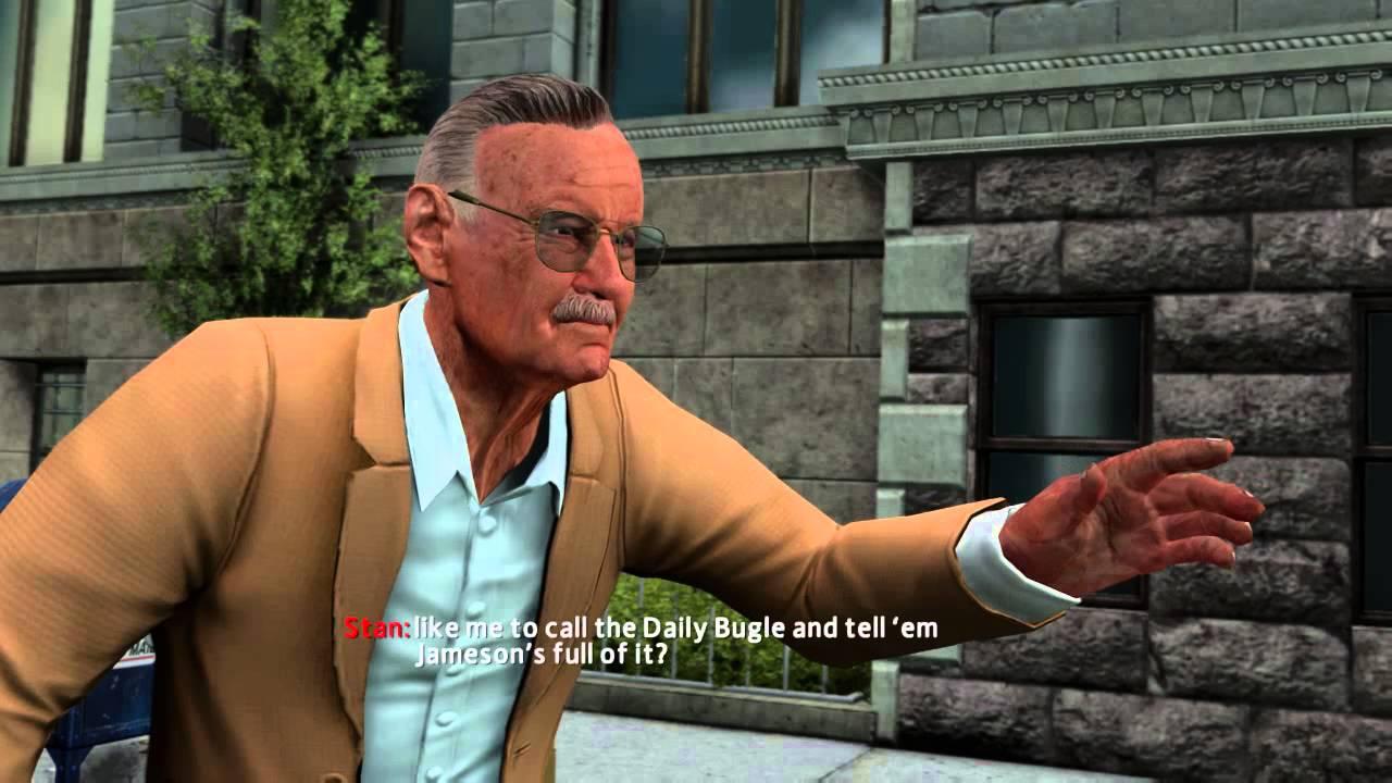 saving stan lee - the amazing spider man 2 game part 3 - saving stan