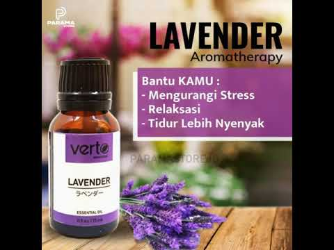 Verto Aromatherapy Oil, Wangi dan Segar