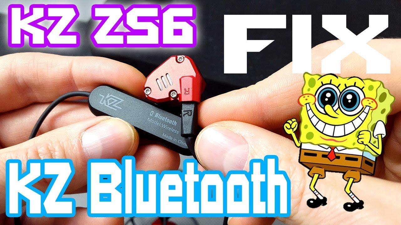 04eead085da KZ ZS6 HiFi Earphones High Tone Fix Mod & KZ Bluetooth Opinion Review