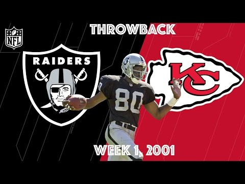 Raiders vs. Chiefs 2001 | Jerry Rice