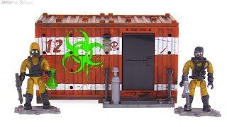 Mega Construx Call of Duty Hazmat Lab Armory review