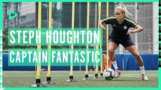 Meeting Steph Houghton in Miami! Manchester City USA Tour