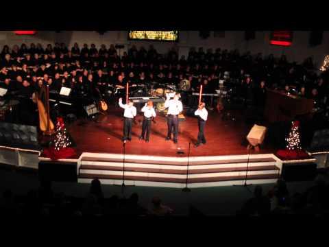 Mud Creek Children's Quartet sings Christmas Carols of Love