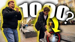 ZRÓB BOTTLE FLIPA = WYGRAJ 1000 ZŁ