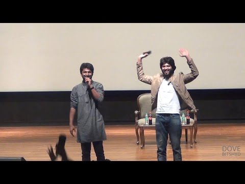 NANI & VIJAY in PEARL'15 @ BITS Pilani Hyderabad Campus