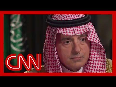 Amanpour confronts Saudi