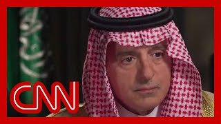 Amanpour confronts Saudi minister on Jamal Khashoggi killing