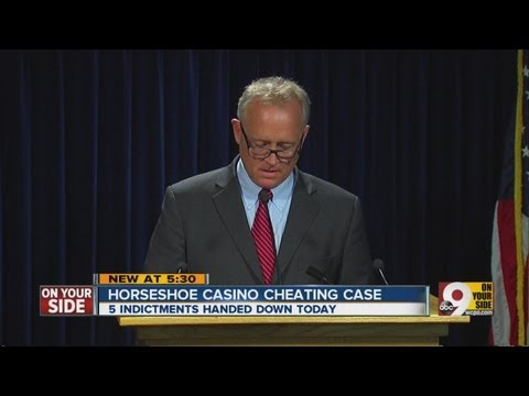 5 indicted for casino cheating