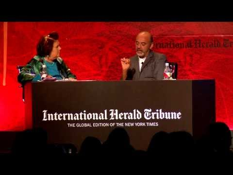 Christian Louboutin in conversation with Suzy Menkes