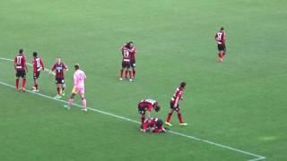 ジェフ千葉'16 vs札幌@フクアリ 後半45分~内村圭宏ゴール(95' 1-2)~試合終了後