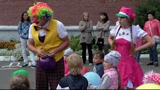 видео клоуны для детей