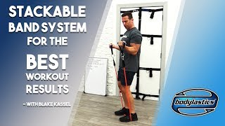 STACKABLE BAND SYSTEM FOR THE BEST WORKOUT RESULTS