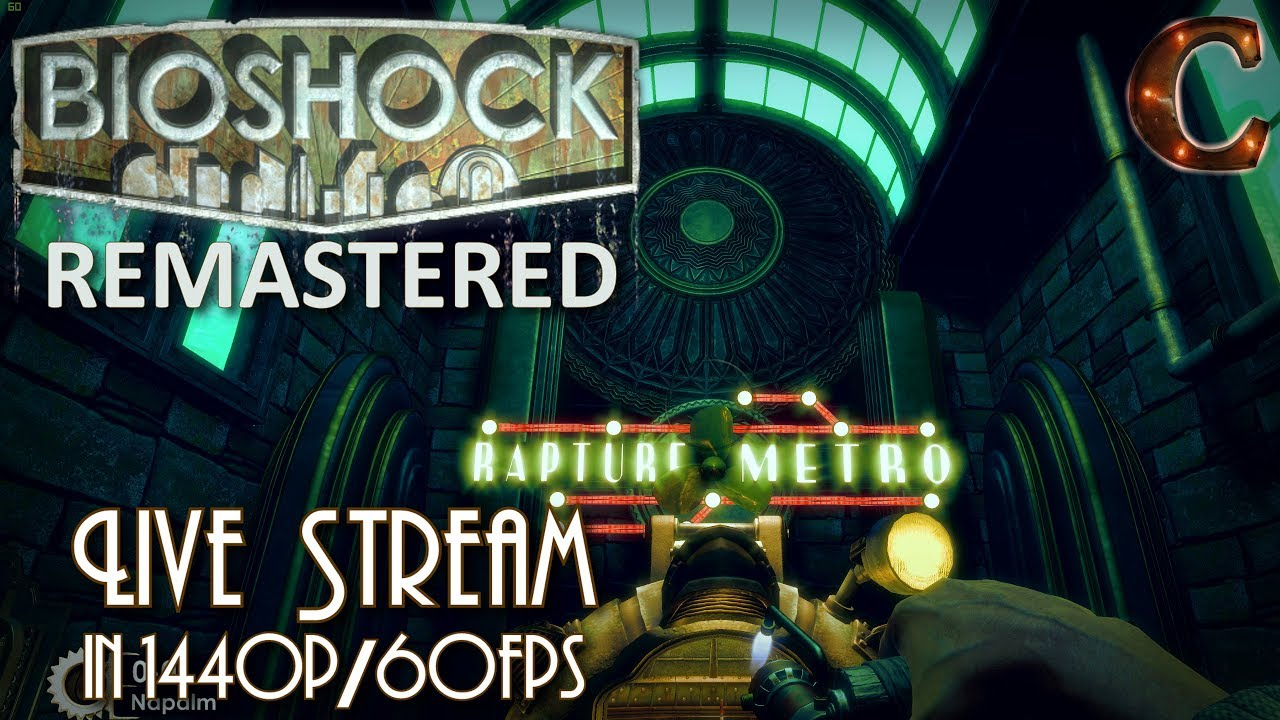 Bioshock Remastered, in 1440p / 60fps on Survivor Mode! Part 13: Exiting  Olympus Heights