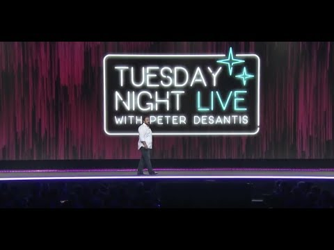 AWS re:Invent 2017 Keynote - Tuesday Night Live with Peter DeSantis
