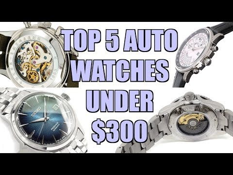 Top 5 Automatic Watches Under $300 - Perth WAtch #200