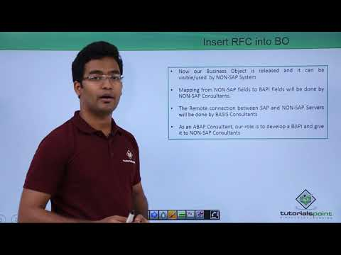SAP ABAP - Create a Custom BAPI - YouTube