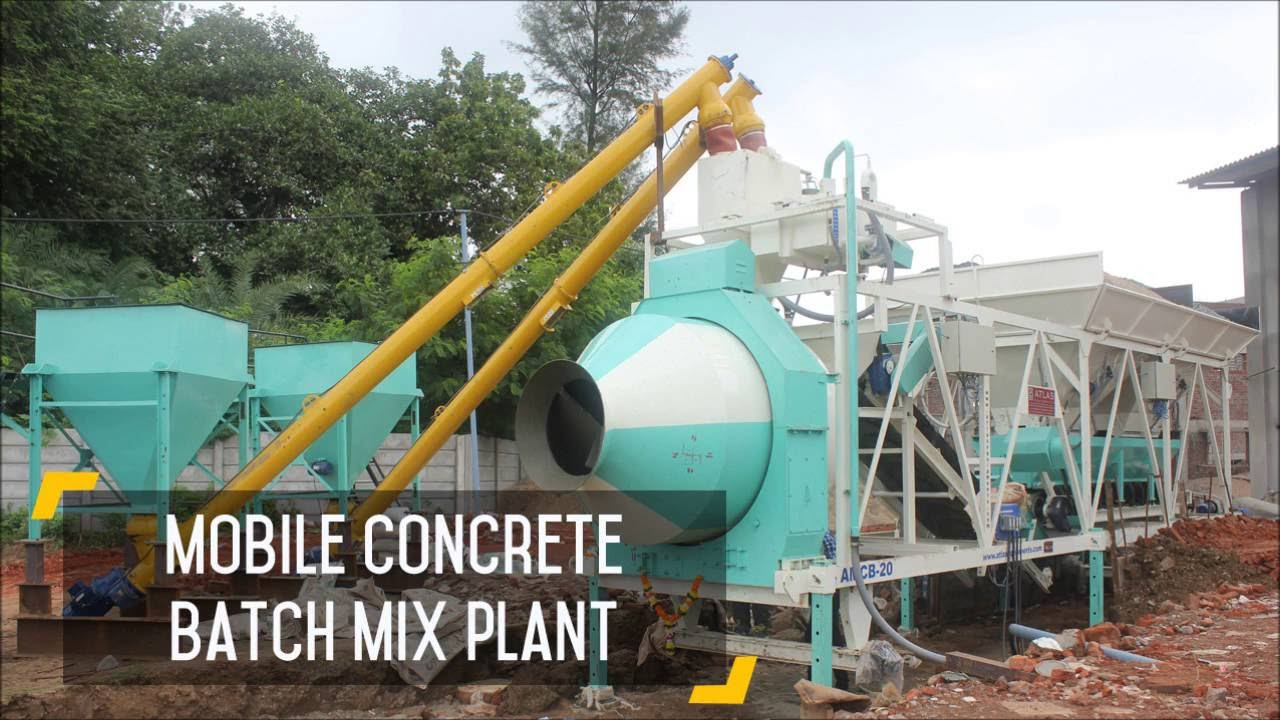 Mini Concrete Batch Plant : Batch plant for sale mini rmc mobile batching