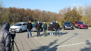 ВЫБИРАЕМ КРОССОВЕР: Hyundai CRETA, Renault Duster, Ford EcoSport, Mazda CX-5, Lada Xray