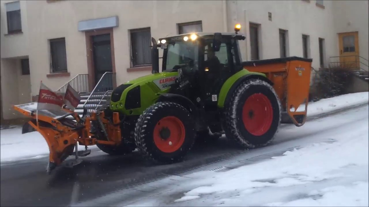winterdienst 2017 mit fendt claas john deere mf man. Black Bedroom Furniture Sets. Home Design Ideas