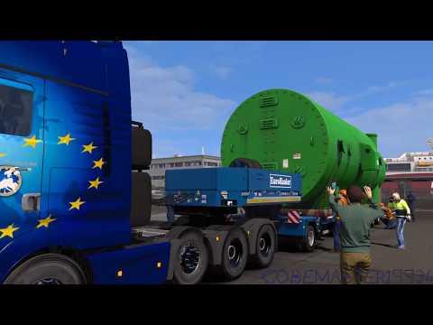 ETS2: Industrial Condenser (Special Transport DLC)