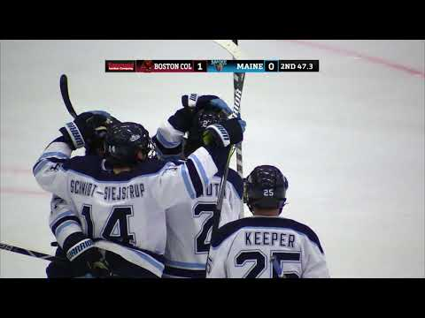 Hockey East Highlights: Boston College at Maine - 02/23/2019