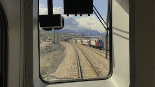 Utah Transit Authority HD 60fps: FrontRunner Head-End View Full Line Ogden to Provo (5/9/19)