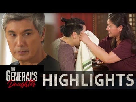 Marcial reminds Franco to prioritize their mission over Rhian | The General's Daughter