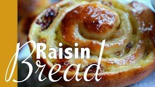 شنيك بالكريم باتسيير و الزبيب Schneck Raisin Bread Pain Aux Raisins