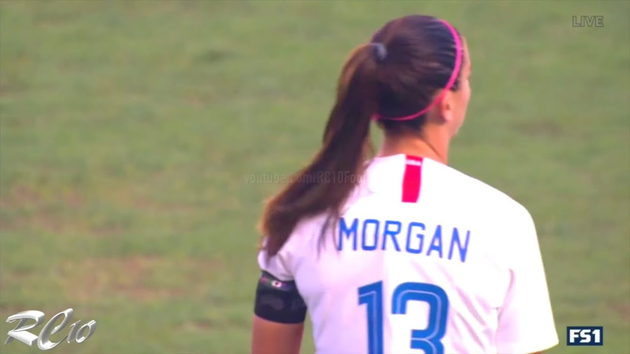 Alex Morgan scores 4 goals to lead USWNT to a Tournament of