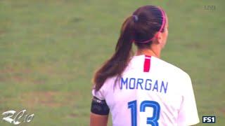 Alex Morgan Hat Trick vs Japan   1080p   Home   4-2   July 26, 2018