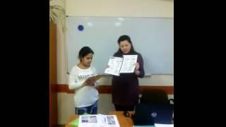 Студент отвечает домашнее задание курсы английского Perfectlang