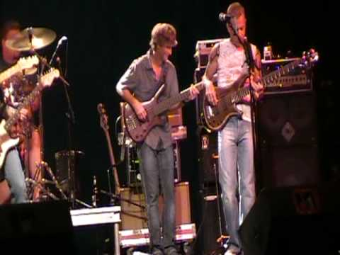 Brandon Gibbs Band and Jake McVey Crossroads perform Superstition