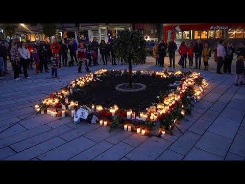 Download Trauer in Kongsberg: Stadt gedenkt der Opfer