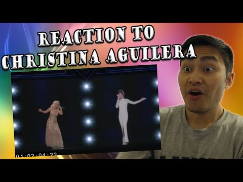 Christina Aguilera - I Have Nothing | Whitney Houston Tribute (REACTION)