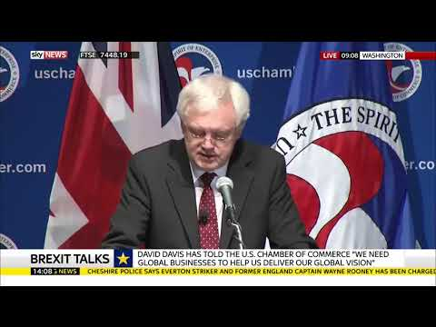 Davis: Britain will be committed to striking new free trade agreements