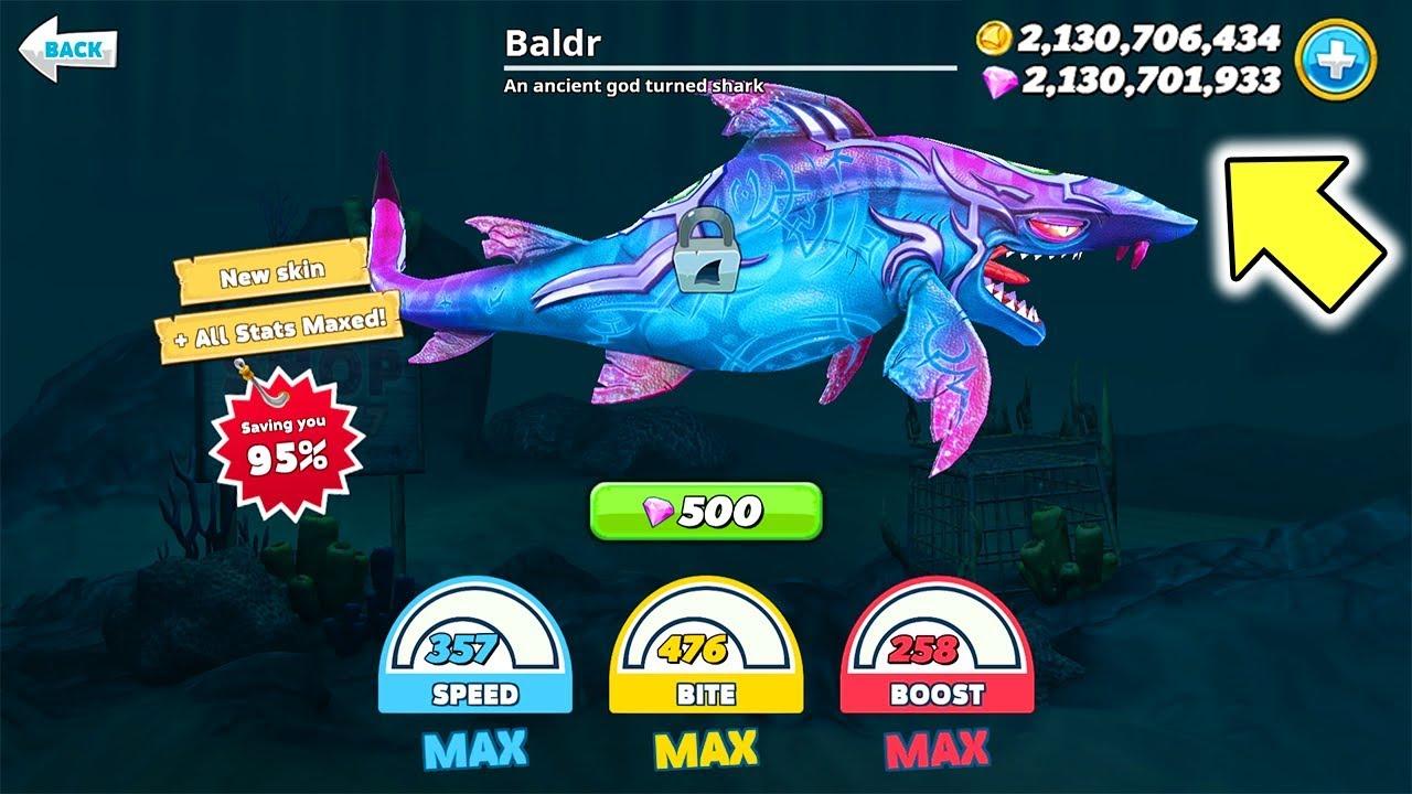 Cách Kiếm Siêu Cá Mập Phép Thuật ( Dark Magic Shark ) Game Hungry Shark