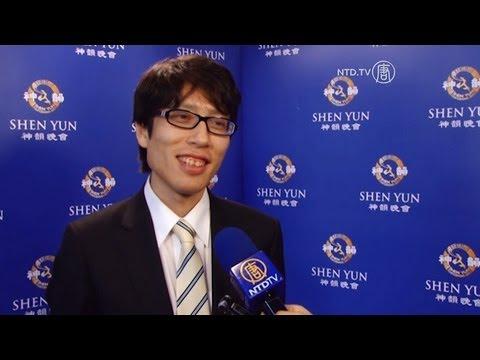 """A Must See"" - Descendant of Japanese Emperor Praises Shen Yun"