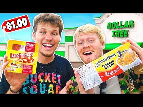 DOLLAR STORE COOK OFF CHALLENGE!!