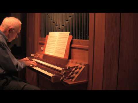 Three Magnificat Fugues by Johann Pachelbel. SF Bonedoc playing A.David Moore organ Opus 27.